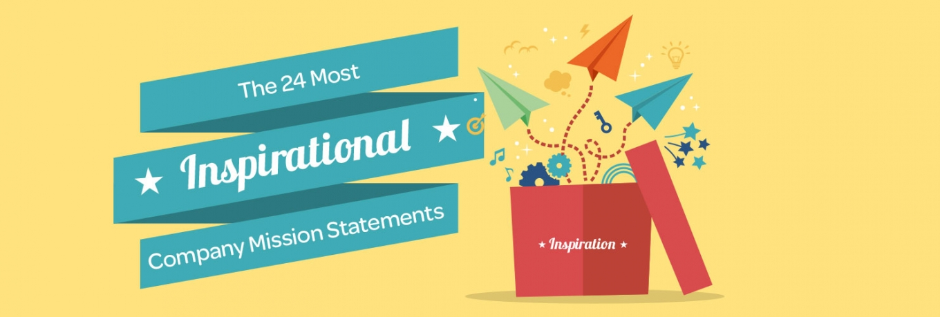 Infographic: The 24 Most Inspirational Company Mission Statements