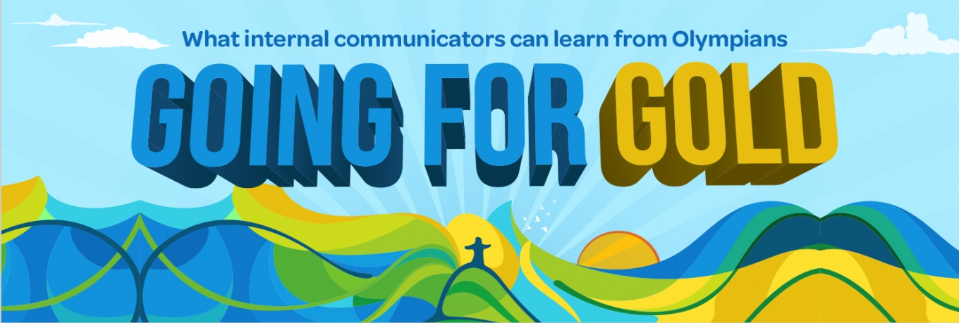 Going for Gold – What internal communicators can learn from Olympians