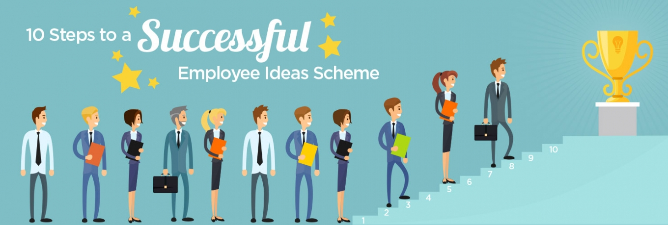 10 Steps to a Successful Employee Ideas Scheme
