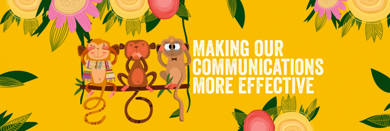 The chimp and the scarf: five ways to guide your audience through change