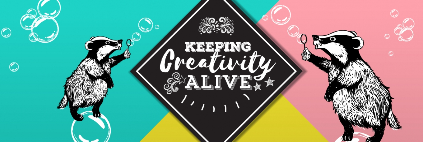 Creative capers at Alive workshops with badgers, ducks and animated stoats…