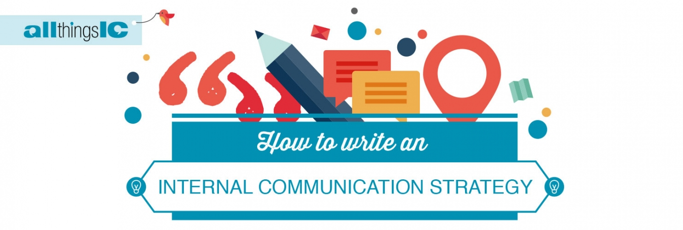 Infographic: How to write an internal comms strategy