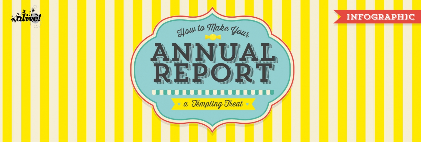 Infographic: How to Make Your Annual Report a Tempting Treat