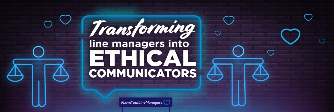 Transforming line managers into ethical communicators