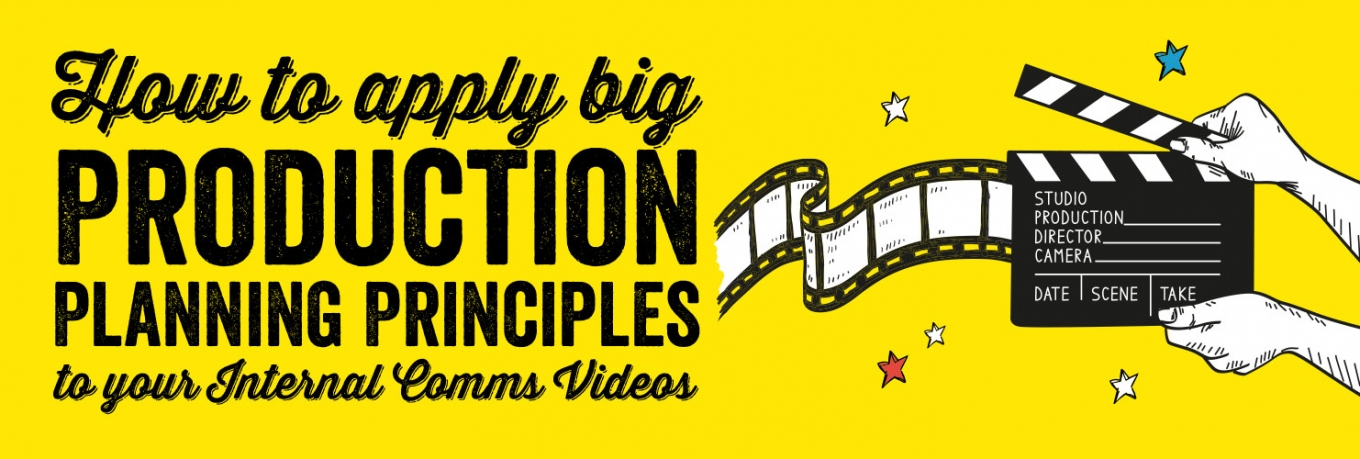 Infographic: How to Apply Big Production Planning Principles to your Internal Comms Videos