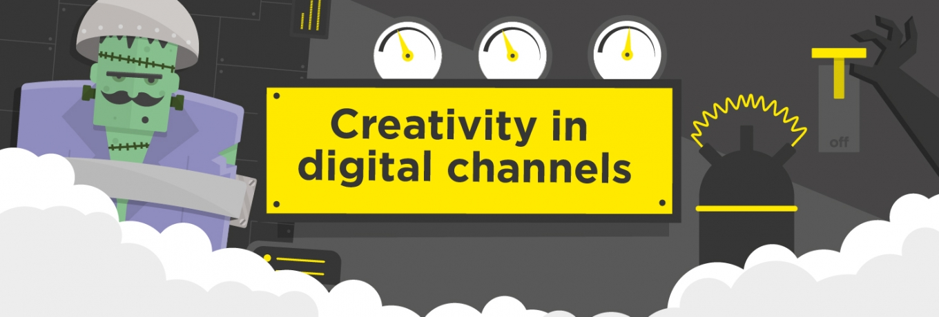 Creativity in digital channels: it's what you do with them that counts
