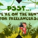 Psst….we're on the hunt for freelancers!