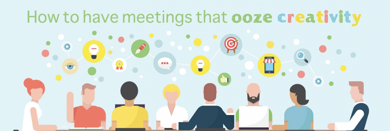 10 ways to have meetings that ooze creativity
