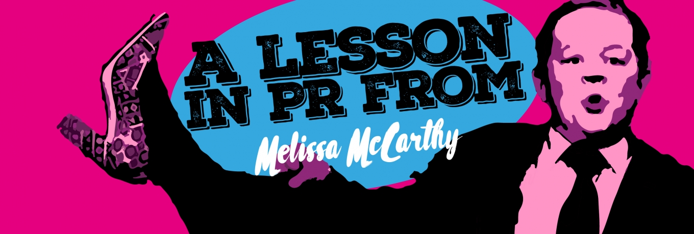 A lesson in PR from Melissa McCarthy