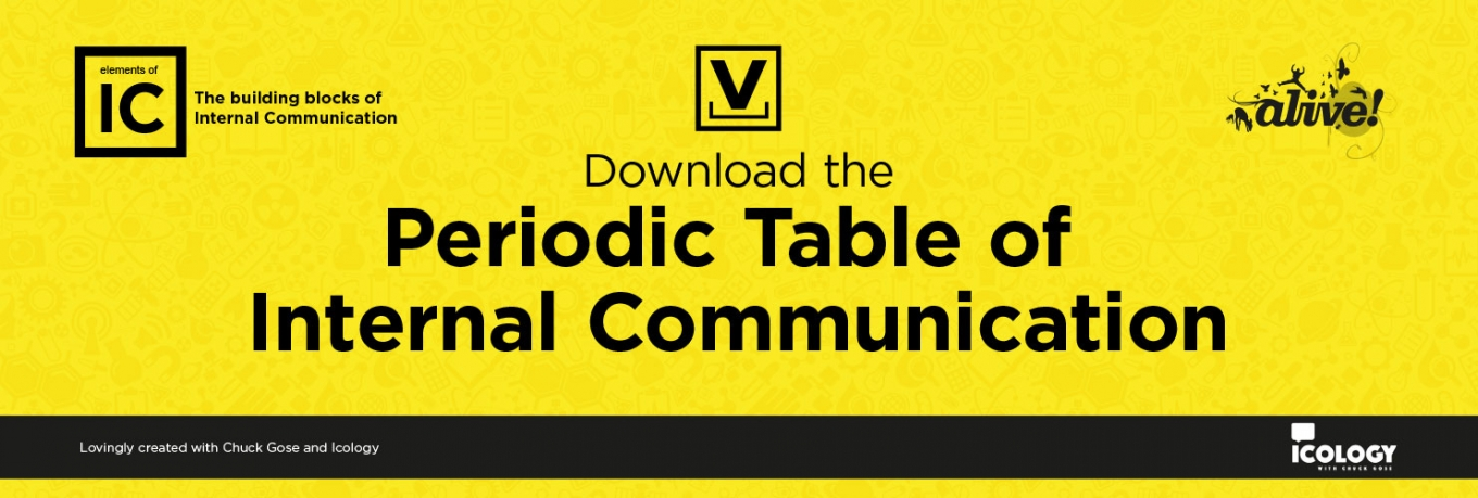 The Periodic Table of Internal Communication