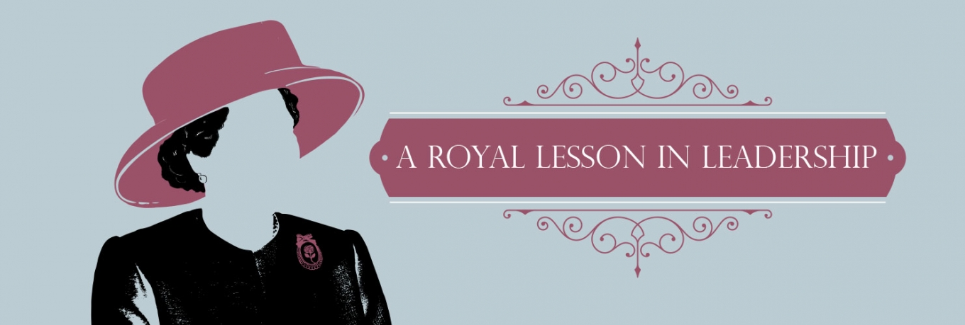 A royal lesson in leadership