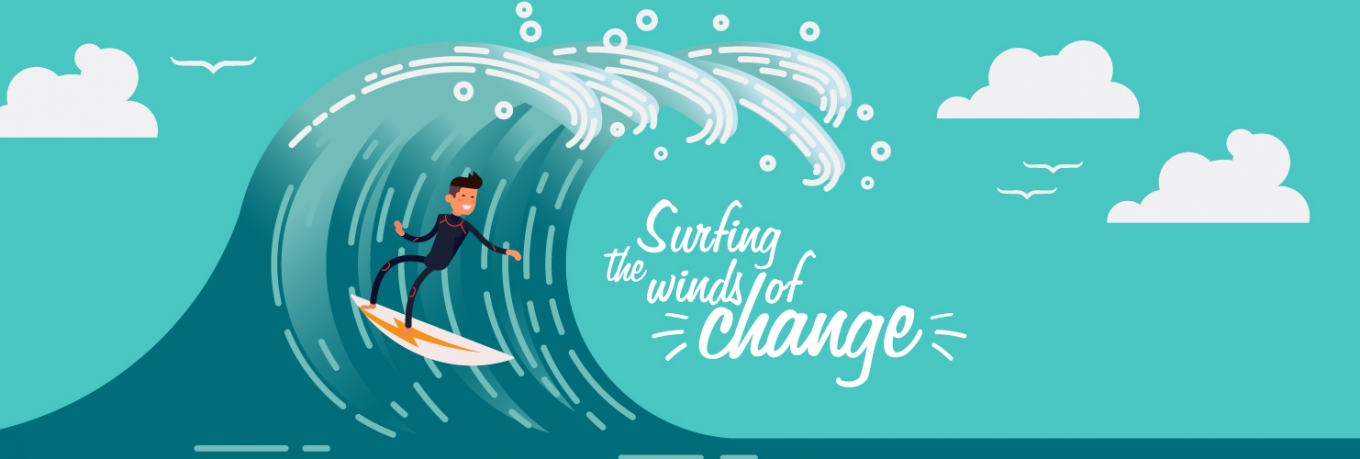 Surfing the winds of change