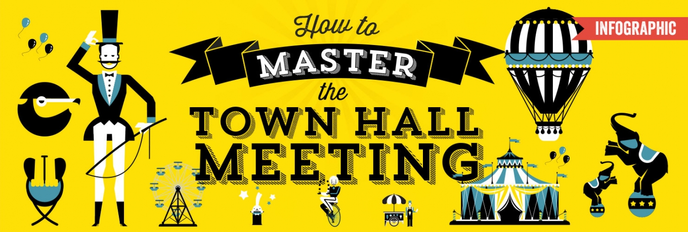 Infographic: How to Master the Town Hall Meeting