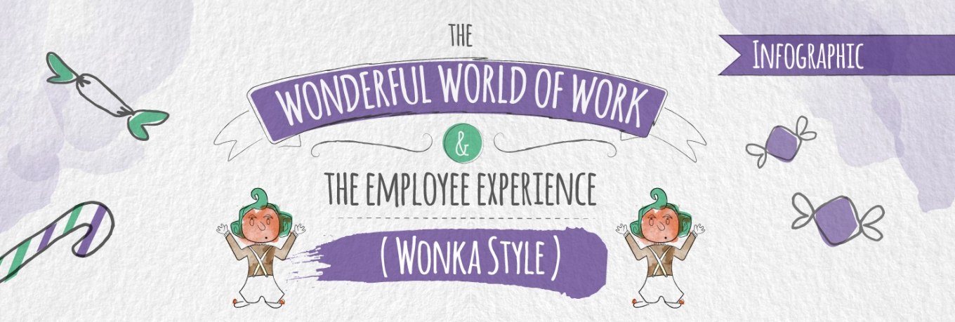 Infographic: creating an enviable employee experience – The Wonka Way