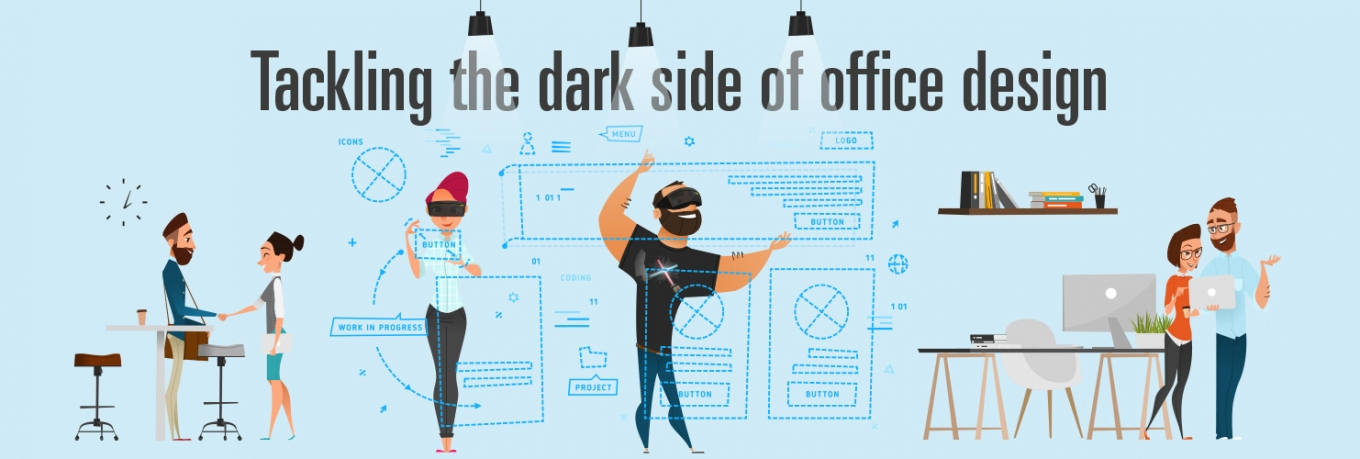 The dark side of office design and 5 tips to address it