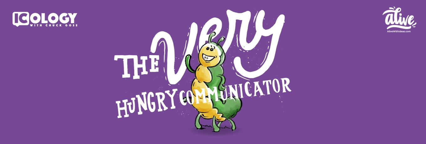Welcome to The Very Hungry Communicator