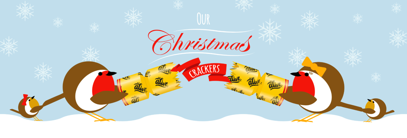 Our Christmas crackers