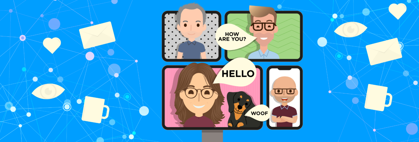 Avoiding virtual insanity: Make online meetings a highlight of a home working day