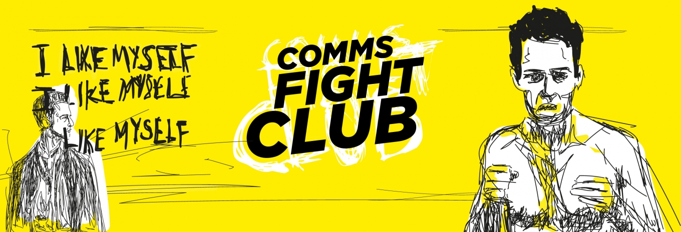 Infographic: What's the first rule of Comms Fight Club?