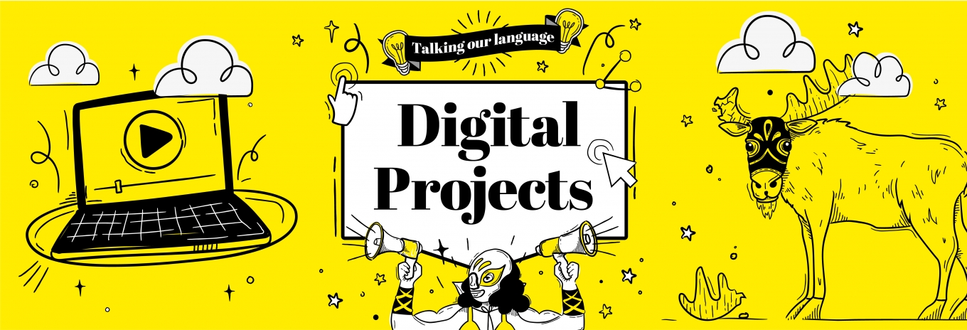 Talking our language – digital projects