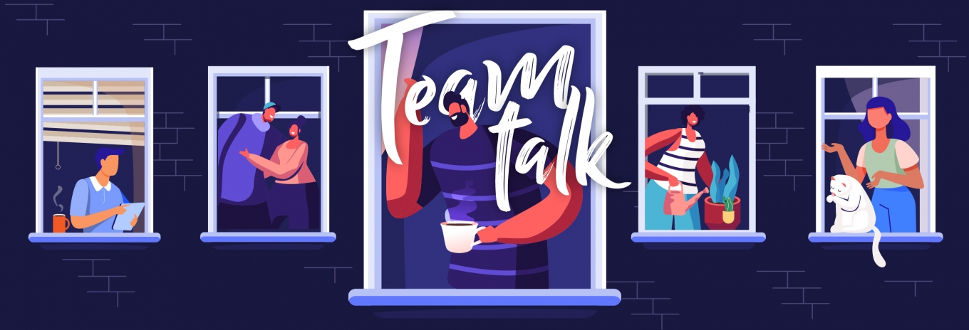 TEAM TALK: On the bed, in the shed and anywhere else available