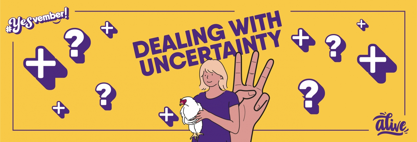 Three ways to deal with uncertainty