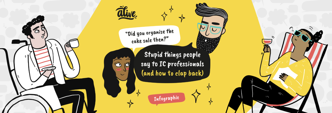 INFOGRAPHIC: Stupid things people say to IC professionals (and how to clap back)