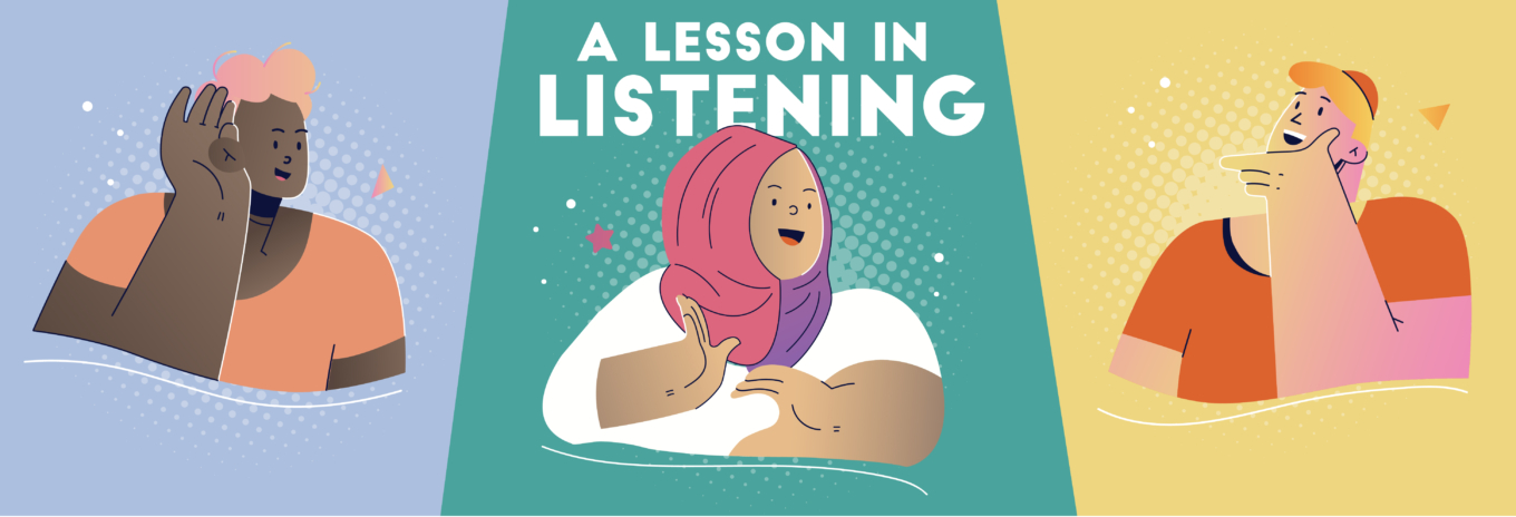 A lesson in listening